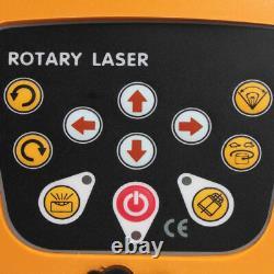 Kit Rotatif De Niveau Laser Rouge Auto-niveler 150 Mètres De Distance Uk Stock
