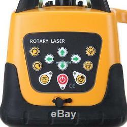 Laser Automatique 500m Faisceau Vert Niveau Rotatif Rotatif 360 Autolissants Outil