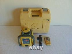 Laser Rotatif À Nivellement Automatique Topcon Rl-h4c