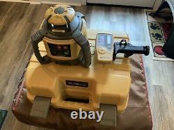 Laser Rotatif Auto-niveau Topcon Rl-h5a Avec Récepteur Ls-80l