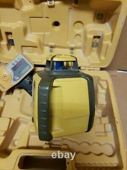 Laser Rotatif Auto-nivellement Topcon Rl-h4c Avec Récepteur Ls-80l