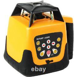 Laser Rotatif Automatique Rotatif 360 Rotation Auto-nivellement Rotatif Laser 500m Portée
