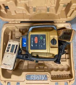 Laser Rotatif D'auto-nivellement Topcon Rl-h4c D'occasion Avec Récepteur Ls-80l