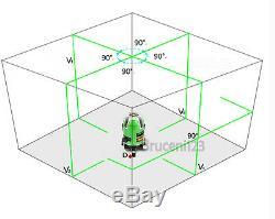 Laser Vert Niveau 5 Ligne 1 Point 360 Niveau Laser Rotatif Autonivelant Ek-469gj