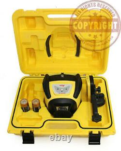 Leica Rugby 50 Self Leveling Rotary Laser Level, Trimble, Spectra, Topcon