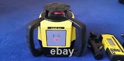 Leica Rugby 610 Rotary Laser Level Rod Eye 160 Carry Case