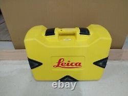 Leica Rugby 610 Rotary Laser Level Rod Eye 160 Récepteur Numérique + Étui Carry