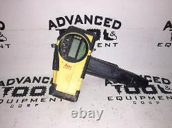 Leica Rugby 610 Rotary Self Leveling Rotating Laser With Remote & Carrying Case