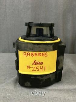 Leica Rugby 810 Laser Rotatif D'auto-niveautage Rotatif Avec Boîtier À Distance Et Porteuse