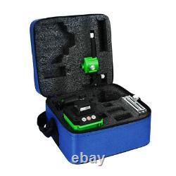Level Laser Vert 360°4d 16 Lignes Laser Outil De Mesure Rotative Auto Nivelante Avec Sac
