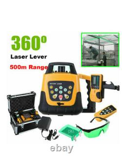 New Rotary / Rotating Green Level Kit Avec Case 500m Gamme