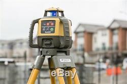 Newtopcon Rl-h5a Autolissants Rotary Laser Pente Niveau Ls-80l Récepteur