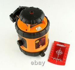 Niveau Et Outil Johnson Niveau Du Laser Rotatif Auto-niveau, Modèle 40-6515