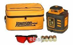 Niveau Johnson Et Outil 406527 Niveau Laser Rotatif Auto-léveling