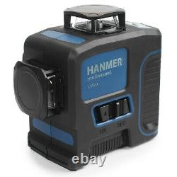 Niveau Laser Auto-niveautage Rechargeable 360 Rotary Green 12 Lines 3d Cross Line