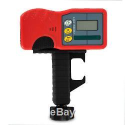 Niveau Laser Rotatif 500m Kit Gamme Automatique Autolissants Rotatif À 360 ° Faisceau Rouge