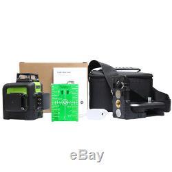 Niveau Laser Rotatif Huepar Green Cross Laser Line Autolissant 903cg 45m 147ft