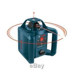 Niveau Laser Rotatif Kit Autolissant Recondition 800 Ft Avec Trépied Récepteur