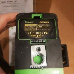 Niveau Laser Rotatif Vert 12 Lignes 3d Cross Line Laser Outil De Mesure D'auto-niveautage