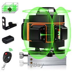 Niveau Laser Rotatif Vert 16 Lignes 4d Cross Ligne Laser Autolissant Mesurer Outil