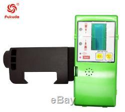 Niveau Laser Vert 5 Ligne 360 rotary Laser Auto-nivelant Ligne Verte Avec Récepteur