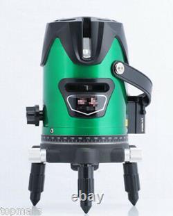 Niveau Laser Vert Lumière Lumineuse 360°rotary Croix D'auto-niveautage