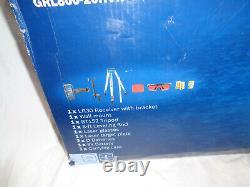 Nouveau Bosch Grl80020hvk Auto-nivelage 800ft Rotary Laser Kit #a66