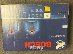 Nouveau Bosch Grl800-20hvk Auto Nivellement Rotary Laser Kit 800ft. +-3/16