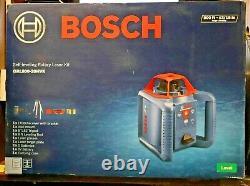 Nouveau Bosch Grl800-20hvk Auto-nivellement Rotary Laser Level Kit 800ft 0601061m10