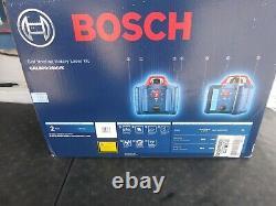 Nouveau! Bosch Kit De Niveau De Laser Rotatif À Nivellement Automatique Avec Support Grl800-20hvk