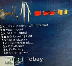 Nouveau! Bosch (grl800-20hvk) Auto Nivellement Rotary Laser Kit Livraison Gratuite