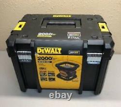 Nouveau Dewalt Dw079lr Self Leveling 20 Volt Rotary Laser Niveau 200' Gamme 2667277