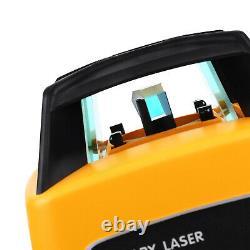 Nouveau Laser Rotation Rotation Auto Auto-niveau Vert Niveau 500m Gamme + Cas