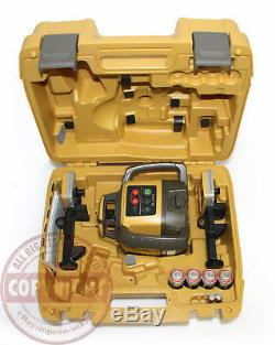 Nouveau! Topcon-h5a Auto Rl-nivellement Rotatif Niveau Laser Niveau, 2 Récepteurs, Transport En Commun