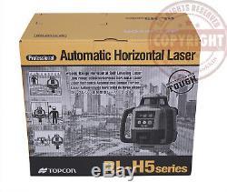 Nouveau! Topcon-h5a Rl Autonivelant Pente Niveau Laser Rotatif Emb, Grade, 16 Pi Pouces