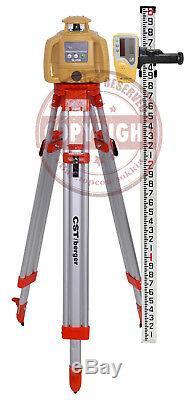 Nouveau! Topcon-h5b Auto Rl Nivellement Niveau Laser Rotatif Package, Transit, H4c-rl, 10