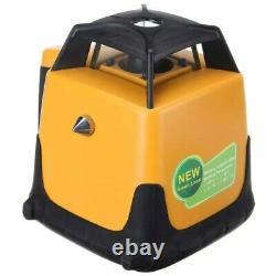 Perle Verte Auto-nivelage 800m Gamme Rotation Laser Niveau Rotaire + Tripode & Personnel
