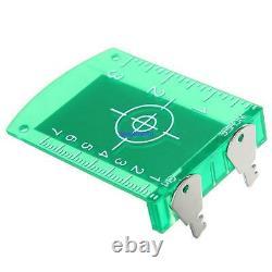 Ridgeyard 360° Auto-nivellement Automatique Rotary Laser Level Green Beam 500m Portée