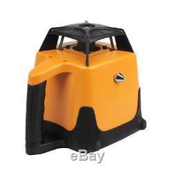 Ridgeyard 360 Autonivelant Rotary / Rotating Laser Rouge Kit De Niveau Avec Étui 500m