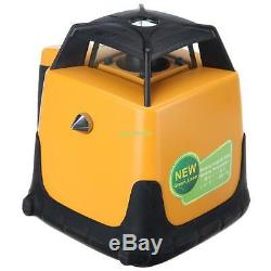 Ridgeyard 360 Autonivelant Rotary / Rotating Laser Vert Niveau Kit 500m Plage