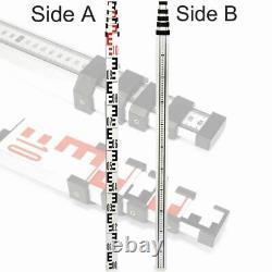 Ridgeyard 500m Auto-nivellement Red Laser Level 360 Rotation Rotary Avec Le Personnel Trépied