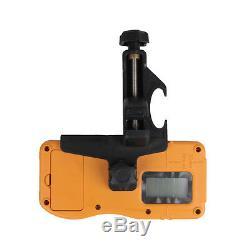 Ridgeyard Range Automatique Autolissants Rotary Rotating Laser Rouge Kit De Niveau