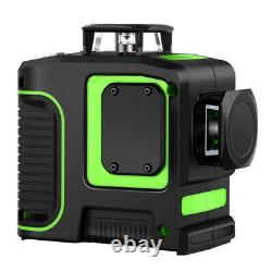 Rotary 8 Lines Green 360 Horizontal & Vertical Laser Level Measurement Auto-nivelage