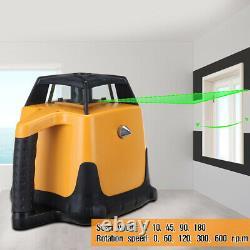 Samger 360° Automatique Au Niveau Du Laser Rotary Level Green Beam Gamme 500m