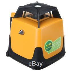 Samger 360 ° Automatique Autonivelant Niveau Laser Rotatif Vert 500m Faisceau Plage