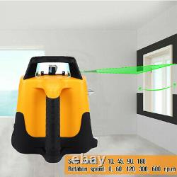 Samger Auto-niveautage 360° Rotatif Automatique Rotatif Vert Niveau Laser 500m Gamme
