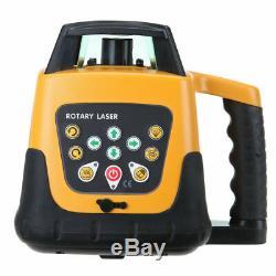 Samger Automatique Autolissant Rotating Laser Vert Niveau Rotary + Trépied Personnel