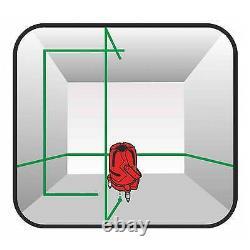 Self Levelling Cross Rotary Green Laser Level Multi 3 Lignes Plumb Dot Trépied