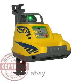 Spectra Precision Hv301g Perle Verte Au Niveau Du Laser Rotatif, Topcon