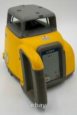 Spectra Precision Ll300n Laser Rotatif À Nivellement Automatique Avec Récepteur Hr 320